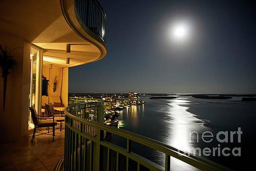 Moonlight Balcony by Don Fleming