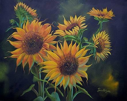 Sunflower Garden by Sherry Cullison