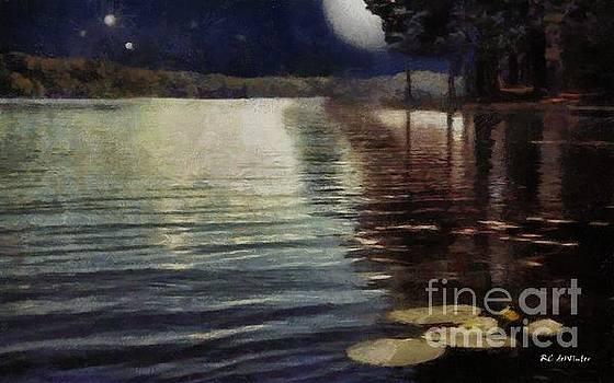 Moonlight Ripples by RC deWinter
