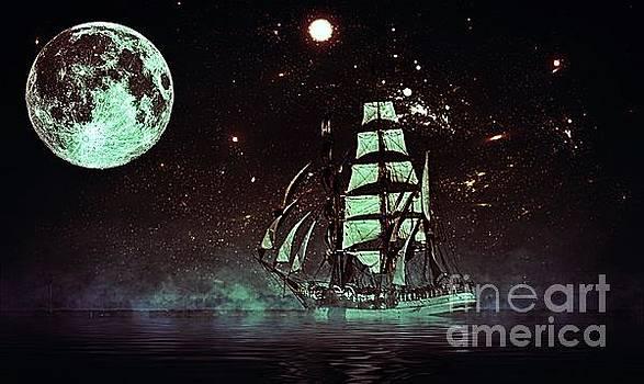 Moonlight Sailing by Blair Stuart