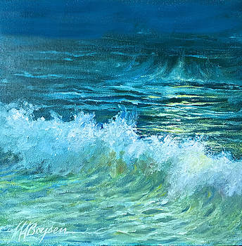 Moonlit Waves by Maryann Boysen