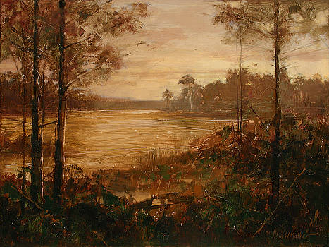 Moorlands at Dusk by Bill Mather
