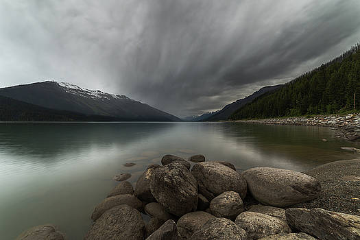 Moose Lake Clouds by Bun Lee