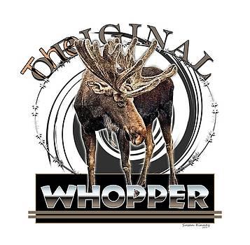 Moose Whooper by Susan Kinney
