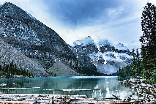 Moraine Lake Blues by Monte Arnold