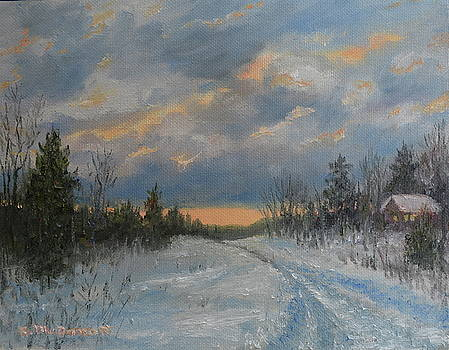 More Snow Tonight by Kathleen McDermott