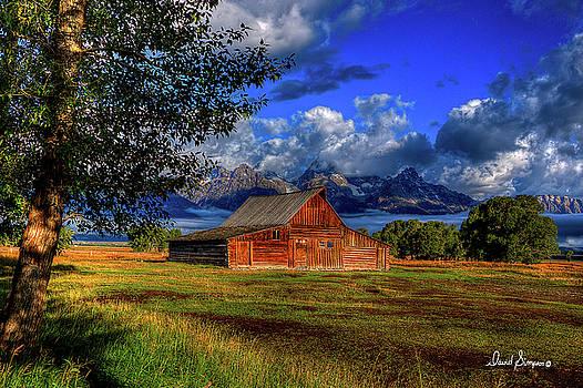 Mormon Barn III by David Simpson