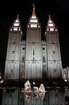 Mormon Nativity by Joshua Francia