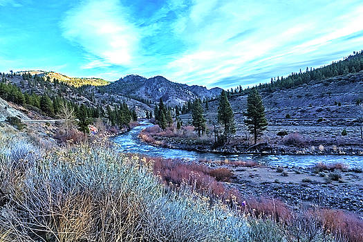 Morning Along The Truckee by Nancy Marie Ricketts