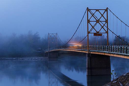 Morning at Beaver Bridge by Steven Bateson