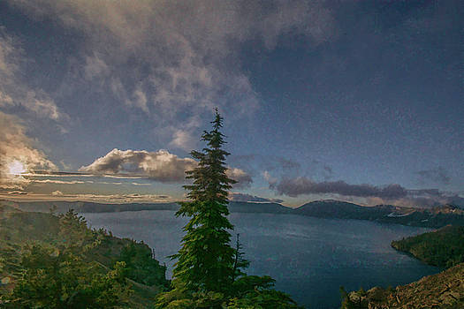 Morning at Crater Lake by Jeff Oates Photography
