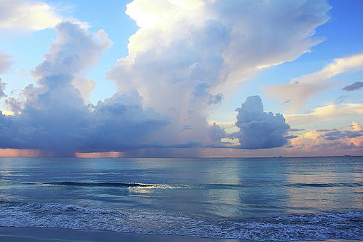 Morning Clouds over the Caribbean by Roupen  Baker