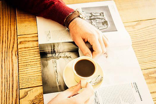Morning coffee by Cesare Bargiggia