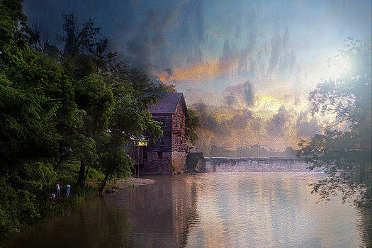 Morning Fishing  by Joel Witmeyer