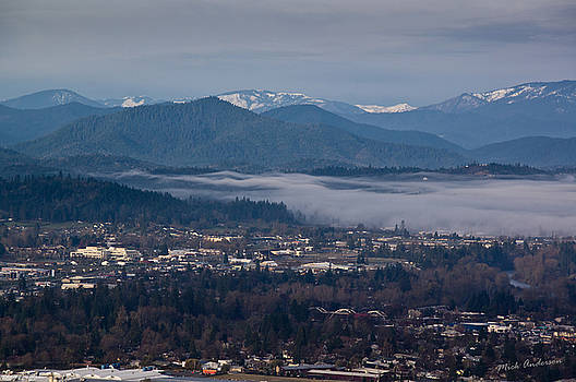Mick Anderson - Morning Fog over Grants Pass