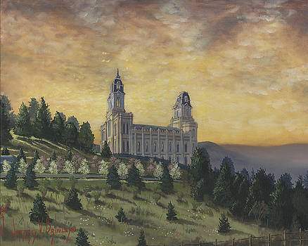 Jeff Brimley - Morning he came again into the Temple