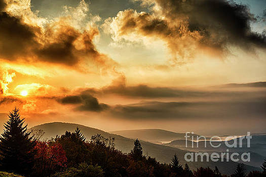 Morning Highland Scenic Highway by Thomas R Fletcher
