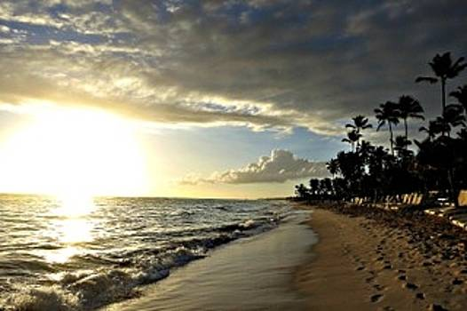 Morning In Punta Cana by Teresita Abad Doebley