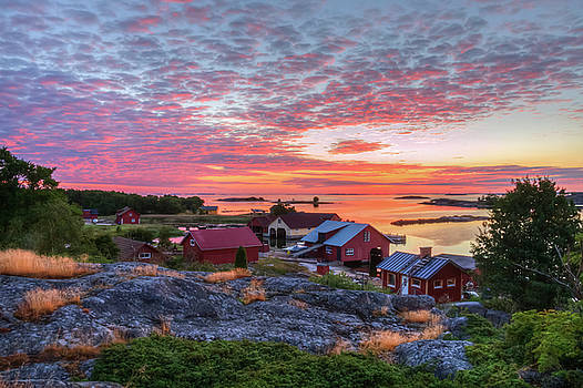 Morning in the Archipelago Sea by Veikko Suikkanen