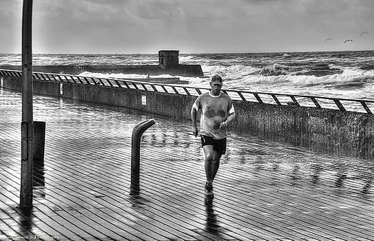 Isaac Silman - morning jogging Tel aviv