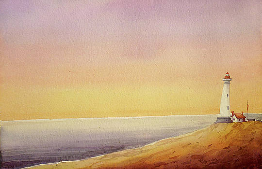 Morning Lighthouse by Samiran Sarkar