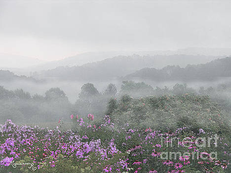 Morning Mist by Mariarosa Rockefeller