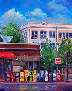 Morning News - Asheville by Jeff Pittman