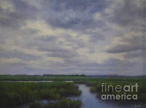 Morning on the Marsh  by Hillary Scott