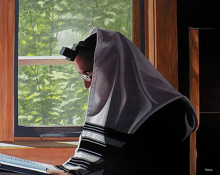 Morning Prayer Shaharit at the Cottage by Kenneth M Kirsch