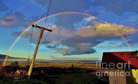 Morning Rainbow Over Kalaupapa by Craig Wood