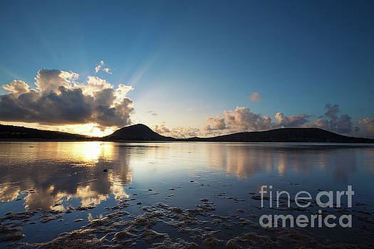 Morning Rays over Hawaii Kai by Charmian Vistaunet