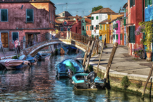 Morning solitude in Burano by John Hoey