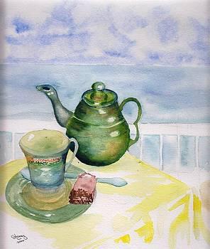 Morning Tea by Sandi Stonebraker