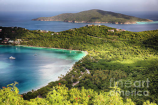 Morning View of Magens Bay by George Oze