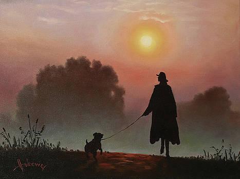 Morning Walk by Dusan Vukovic
