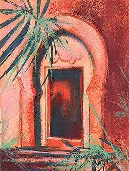 Morocan Doorway by Alison Fennell