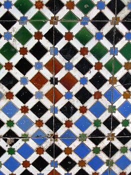 Yvonne Ayoub - Moroccan Marrakesh Mosaic 02