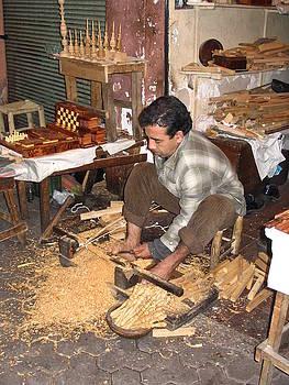 Yvonne Ayoub - Moroccan woodturner