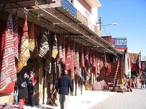 Yvonne Ayoub - Morocco Marrakesh Market Rugs