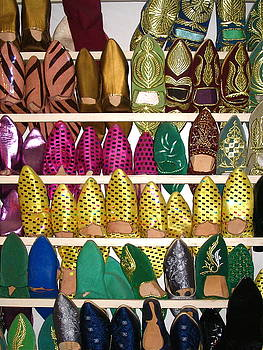 Yvonne Ayoub - Morocco Marrakesh Market Slippers 02