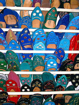 Yvonne Ayoub - Morocco Marrakesh Market Slippers
