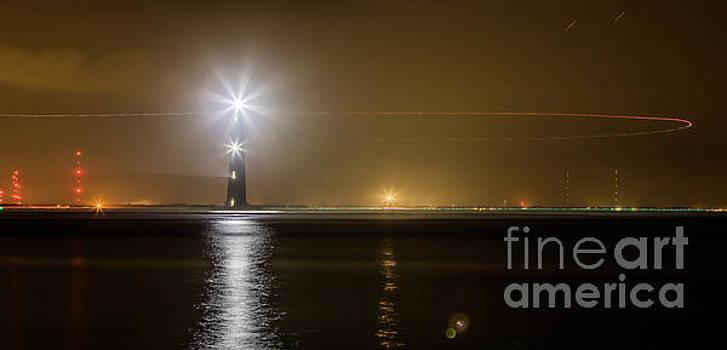 Morris Island Light House 140 Year Anniversary Lighting by Dustin K Ryan