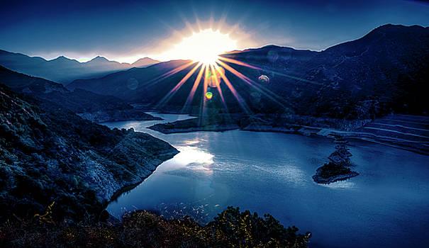 Morris Reservoir Sunrise by Joseph Hollingsworth