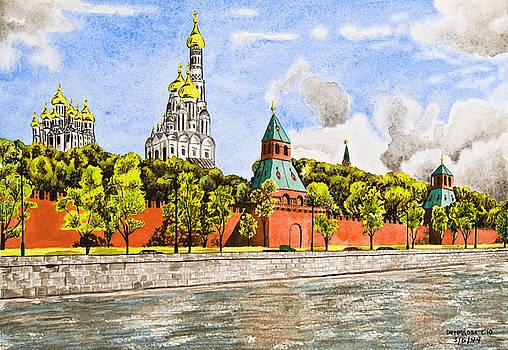 Svetlana Sewell - Moscow River