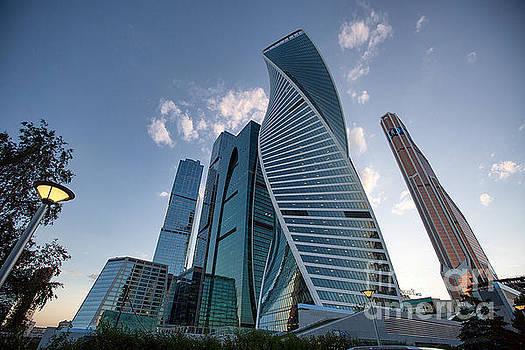 Moskva city by Vladimir Sidoropolev