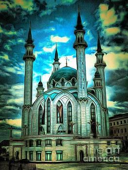 Mosque by Yury Bashkin