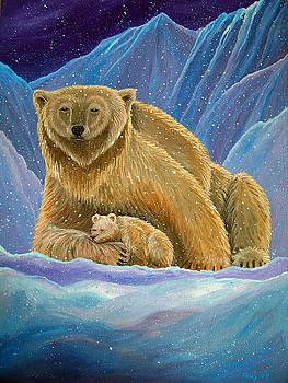 Nick Gustafson - Mother and baby Polar bears
