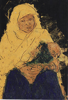 Mother and Child 01  by Mohd Raza-ul Karim