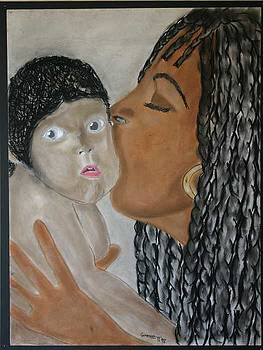 Mother and Child by Garnett Thompkins