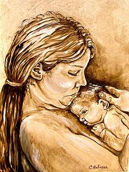 Mother and Child III by Carol Allen Anfinsen